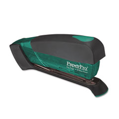 PaperPro Desktop Stapler, 20-Sheet Capacity, Translucent Green