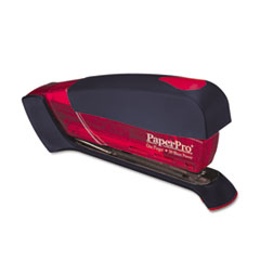 PaperPro Desktop Stapler, 20-Sheet Capacity, Translucent Red