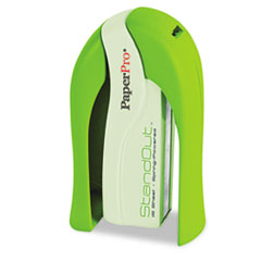 PaperPro StandOut Stapler, 15-Sheet Capacity, Green