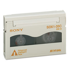 Sony 8 mm AIT-1 Cartridge, 230m, 35GB Native/91GB Compressed Capacity