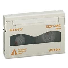 Sony 8 mm AIT-1 Cartridge, 230m, 35GB Native/91GB Compressed Capacity