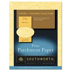 SOU P994CK336 Southworth® Parchment Specialty Paper SOUP994CK336