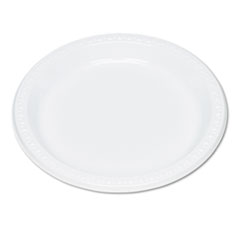 Tablemate Plastic Dinnerware, Plates, 9