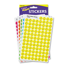 TREND SuperSpots and SuperShapes Sticker Variety Packs, Neon Smiles, 2,500/Pack