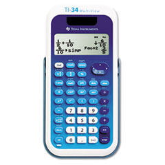 TEX TI34MULTIV Texas Instruments TI-34 MultiView Calculator TEXTI34MULTIV