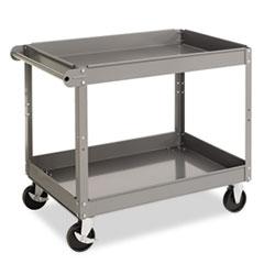 TNN SC2436 Tennsco Two-Shelf Metal Cart TNNSC2436