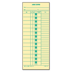 TOPS Job Card for Cincinnati/Lathem/Simplex, 1 Side, 3 1/2 x 9, 500/Box