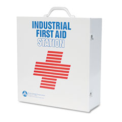 PhysiciansCare Industrial First Aid Kit for 100 People, Contains 721 Pieces