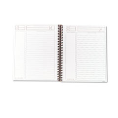 Journal Entry Notetaking Planner Pad, Ruled, 6-3/4 x 8-1/2, White, 100 Sheets