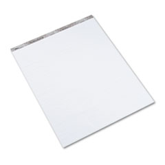 TOPS Second Nature Easel Pads, 1in Quadrille Rule, 27 x 34, White, 50-Sheet, 3/Carton