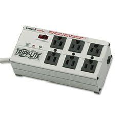 Tripp Lite ISOTEL6ULTRA Isobar Surge Suppressor Metal RJ11, 6 Outlet, 6ft Cord, 3330 Joules