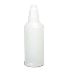 UNISAN Plastic Bottle, 32oz Natural Bottle, 24/Carton
