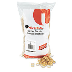 Universal Rubber Bands, Size 8, 7/8 x 1/16, 5000 Bands/1lb Pack