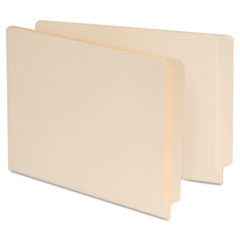 Universal Manila Reinforced Shelf Folder, Letter, 100/Box