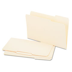 Universal Recycled Interior File Folders, 1/3 Cut Top Tab, Legal, Manila, 100/Box