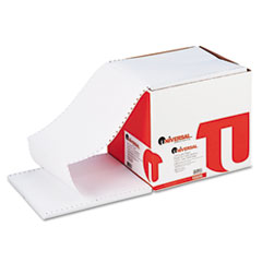 Universal Computer Paper, 15lb, 9-1/2 x 11, Letter Trim Perforations, White, 3300 Sheets