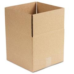 Universal Corrugated Kraft Fixed-Depth Shipping Carton, 12w x 12l x 10h, Brown, 25/Bundle