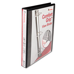 Universal Comfort Grip Deluxe Plus D-Ring View Binder, 1