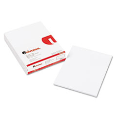 Scratch Pads, Unruled, 8-1/2 x 11, White, 6 100-Sheet Pads/Pack