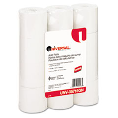 UNV 35715GN Universal Impact and Inkjet Printing Bond Paper Rolls UNV35715GN