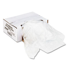 Universal High-Density Shredder Bags, 13w x 13d x 28h, 100 Bags/Carton, Clear