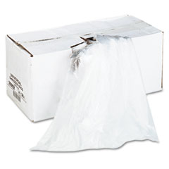 Universal High-Density Shredder Bags, 28w x 22d x 48h, 100 Bags/Carton, Clear