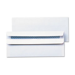 Universal One Self-Seal Business Envelope, Security Tint, #10, White, 500/Box