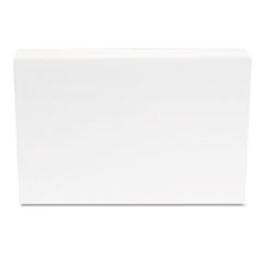 Universal Unruled Index Cards, 4 x 6, White, 500/Pack