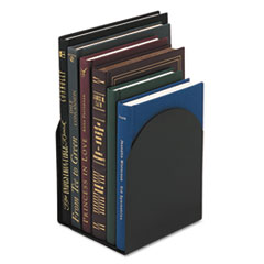 Universal Bookends, Magnetic, 6 x 5 x 7, Metal, Black