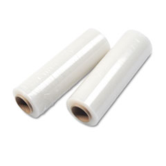 Handwrap Stretch Film, 16w x 1500' Roll, 20 mic (80 Gauge), 4 Rolls/Carton