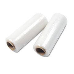 "Handwrap Stretch Film, 14"" x 2000' Roll, 15 mic (60 Gauge), 4 Rolls/Carton"