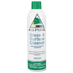 Misty Aspire Glass & Surface Cleaner, Lemon Scent, 16 oz. Aerosol Can