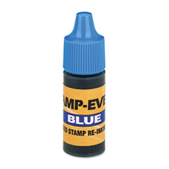 U. S. Stamp & Sign Refill Ink for Clik! & Universal Stamps, 7ml-Bottle, Blue