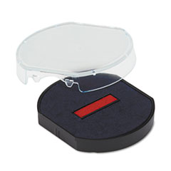 USS P46140BR U. S. Stamp & Sign Replacement Pad for Trodat Self-Inking Dater USSP46140BR