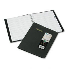 At-a-glance - recycled monthly planner, black, 8-inch x 10-inch, sold as 1 ea