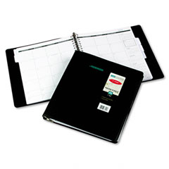 Three-Year Monthly Planner, Black, 9&quot; x 11&quot;
