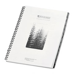 At-a-glance executive - executive recycled fashion weekly/monthly planner refill, 8 1/4 x 10 7/8, sold as 1 ea