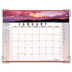 Visual organizer - visual organizer recycled landscape panoramicdesk pad, 22 x 17, sold as 1 ea
