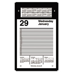 Pad-Style Desk Calendar Refill, 5&quot; x 8&quot;