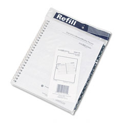 Dayminder - recycled weekly refill for g545, desk, 6 7/8-inch x 8 3/4-inch, sold as 1 ea