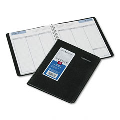 Dayminder - recycled weekly planner, jan.-dec., black, 6 7/8-inch x 8 3/4-inch, sold as 1 ea