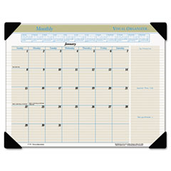 Visual organizer - visual organizer recycled executive desk pad, 22-inch x 17-inch, sold as 1 ea