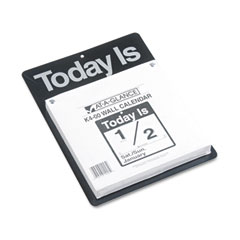 At-a-glance - recycled -inchtoday is-inch wall calendar, 9 3/8-inch x 12-inch, sold as 1 ea