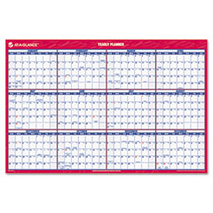 At-a-glance - recycled paper vertical/horizontal wall calendar, 24-inch x 36-inch, sold as 1 ea