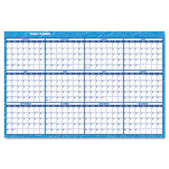 At-a-glance - recycled horizontal erasable wall planner, 48-inch x 32-inch, sold as 1 ea