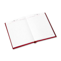 At-a-glance - standard diary  recycled daily reminder, red, 5 3/4-inch x 8 1/4-inch, sold as 1 ea