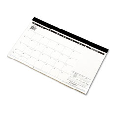 At-a-glance - recycled compact desk pad, 17 3/4-inch x 10 7/8-inch, sold as 1 ea