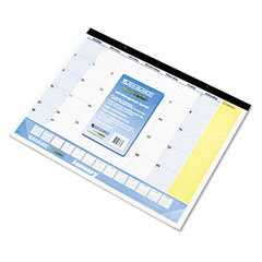 At-a-glance - quicknotes recycled desk pad, 22-inch x 17-inch, sold as 1 ea