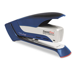 Paperpro - prodigy spring powered stapler, 25-sheet capacity, blue/silver, sold as 1 ea