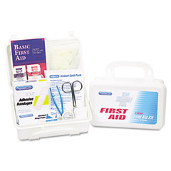 Physicianscare - first aid kit for up to 25 people, 113 pieces, plastic case, sold as 1 ea